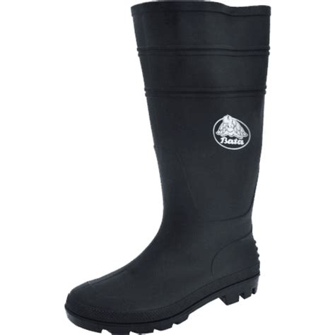 Sepatu Boots Anti Air gumboots from bata industrials safety wellington boots