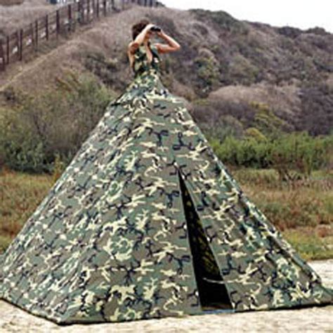 army camo wedding dress   Sang Maestro