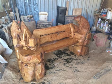 chainsaw carved bench 1000 images about chainsaw benches on pinterest