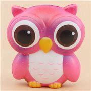 Squishy Yellow Owl kawaii shop modes4u squishy stationery fabric re