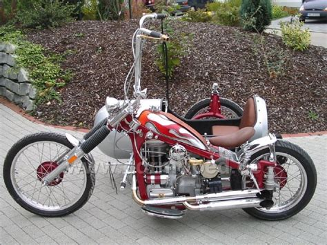 Motorrad Umbau Chopper by Umbauten Chopper Traktoren Ddrmoped De