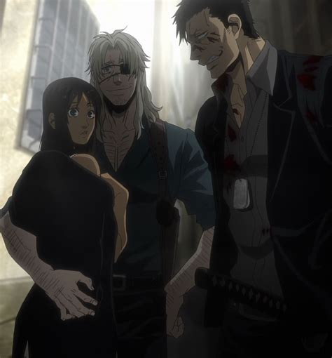 tokoh anime yang ikemen review gangsta anime crime noir berkualitas dengan