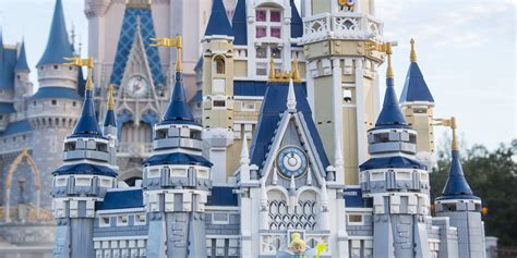 Disney World Castle Floor Plans - you can now build your own disney castle with lego and