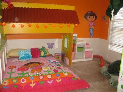 dora bedroom dora the explorer themed bedroom for kid interior design inspirations