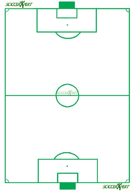 blank football field template football play diagram template cliparts co