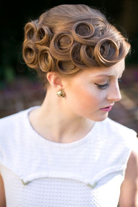 Fashioned Pin Up Hairstyles by Hairstyles Vintage Updo For Every Pretty Designs