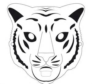 animal mask templates clipart best