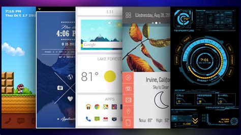html android themes best android launchers in 2015 by dreamy tricks the