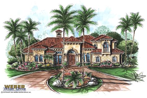 weber design group home plans mediterranean house plan venetian house plan weber