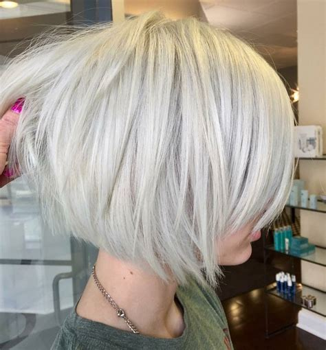 bob style haircuts with layers 10 layered bob hairstyles look fab in new blonde shades
