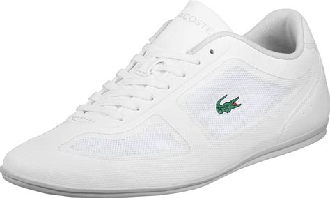 lacoste sports shoes lacoste sport misano evo shoes white