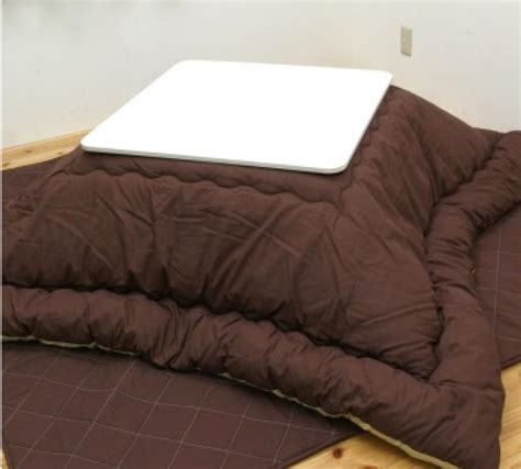 Japanese Futon Set by New Japanese Kotatsu Futon Set Reversible Brown Quot Table Not