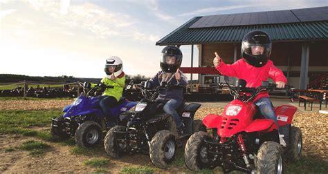 Motorrad Fahren Kindergeburtstag by Quad Park Kinder Energie Und Baumaschinen