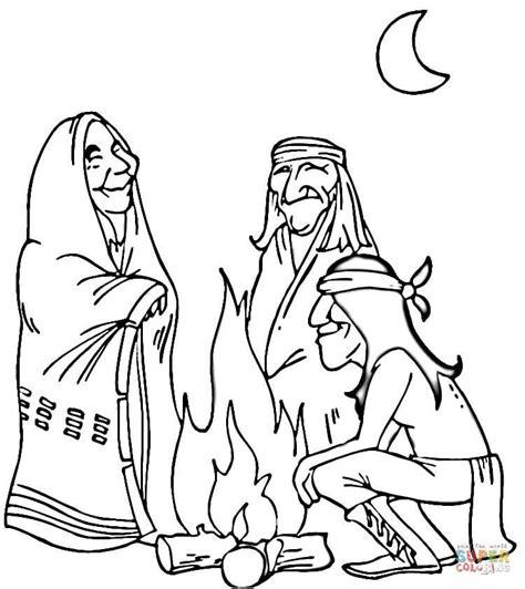 creek indian coloring page disegno di indiani d america da colorare disegni da