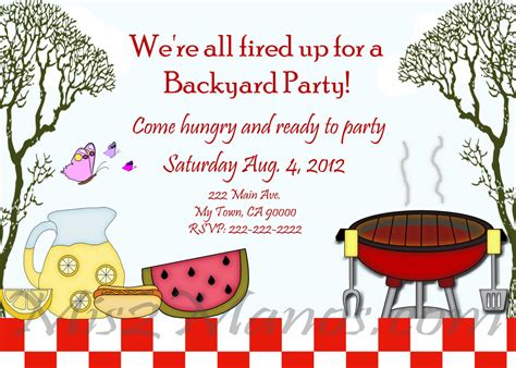 barbecue invitation template bbq invitation template best template collection