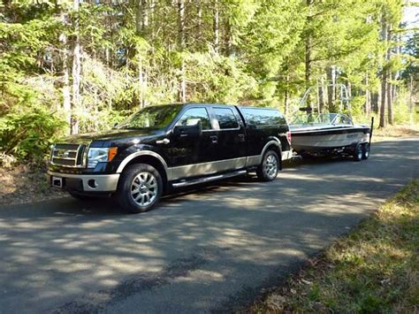 how much does a pontoon weigh how much weigh can f150 tow autos post