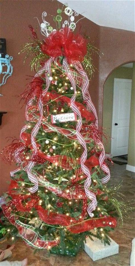 deco mesh christmas tree deco mesh wreaths pinterest