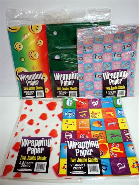 gift wrap paper wholesale wholesale assorted flat wrap gift wrapping paper 2 jumbo