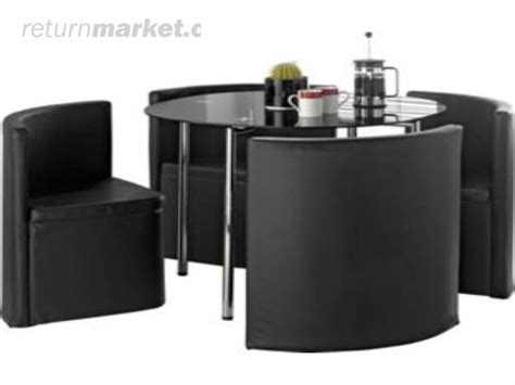 space saver kitchen table and chairs black dining room table space saver kitchen table