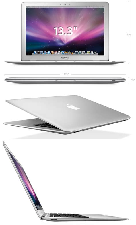Notebook Apple Macbook Air Md711za A apple macbook air gallery small laptops and notebooks