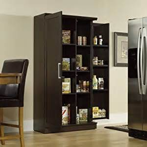 Large Kitchen Storage Cabinets Sauder Door Storage Cabinet Large Dakota Oak Home Kitchen