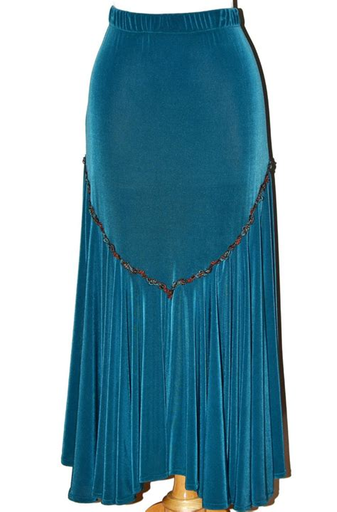 hairstyle on western long skirt images western style skirt in teal styling pinterest
