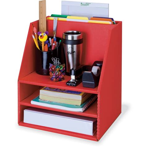 Desk Organization Supplies Classroom Keepers Corrugated Desk Organizer