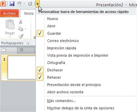 tutorial rapido powerpoint curso de powerpoint 2010 b 225 sico lecci 243 n 1 barra de
