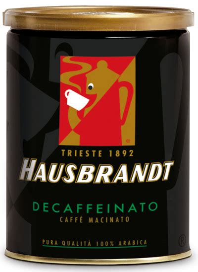 Illy Esp Ground Decaffeinated Coffe 250 Gr 1 espresso ground hausbrandt hausbrandt decaffeinated