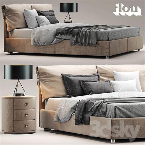 letto flou nathalie 3d models bed bed flou letto nathalie