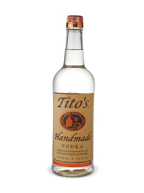 Tito Handmade Vodka Review - booze review tito s handmade vodka