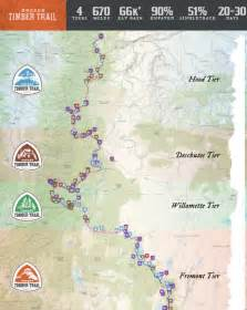 timber oregon map the 670 mile oregon timber trail launches march 23rd here