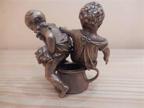 applique bois 3779 petit bronze enfants sur le pot bronze m 233 tallerie