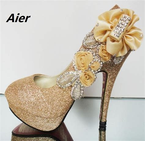 cheap high heels shoes free shipping free shipping new 2016 fashion lace wedding shoes