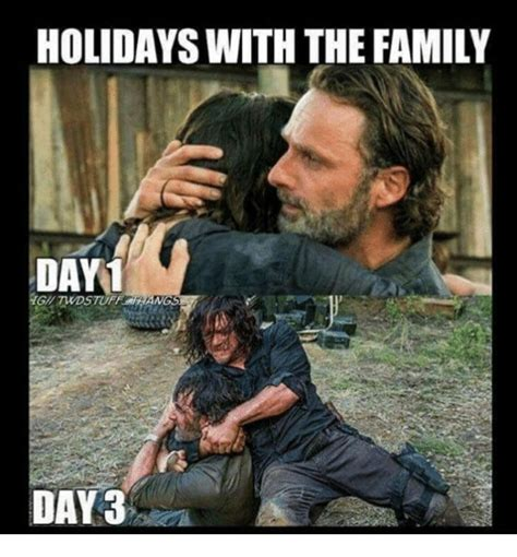 family memes holidays with the family day1 gil twdstuff hangs day 3