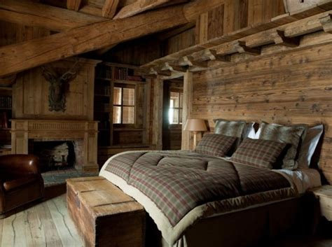 comfy  natural chalet bedroom designs digsdigs