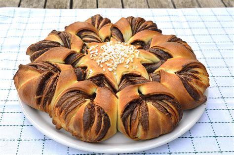 pan brioche fiore fiore di pan brioche alla nutella bimby tm31 tm5