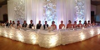 Wedding Head Table Reception Head Table Decoration Ideas Google Search