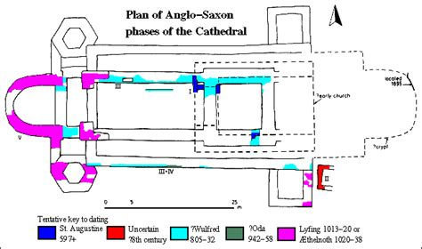 canterbury cathedral floor plan canterbury archaeological trust canterbury cathedral