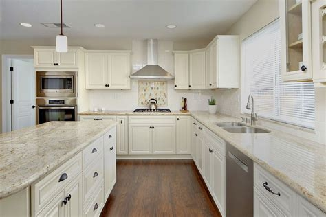 white kitchen cabinets with granite countertops river white granite countertops pictures cost pros cons