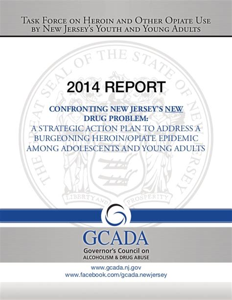 Substance Abuse Detox Centers Nj by New Jersey Governor S Task On Heroin And Opiate