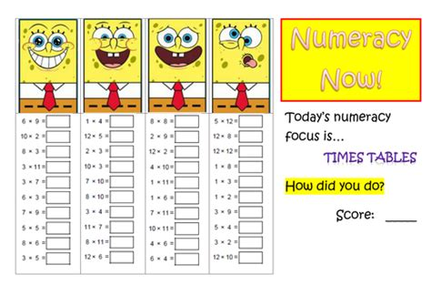 practice times tables numeracy times tables practice by mcamaths teaching
