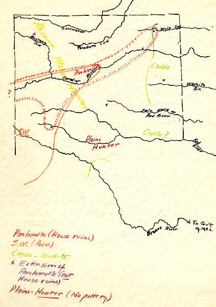 map of panhandle of texas villagers