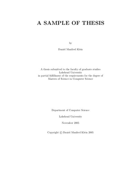 dissertation dedication exle sle thesis