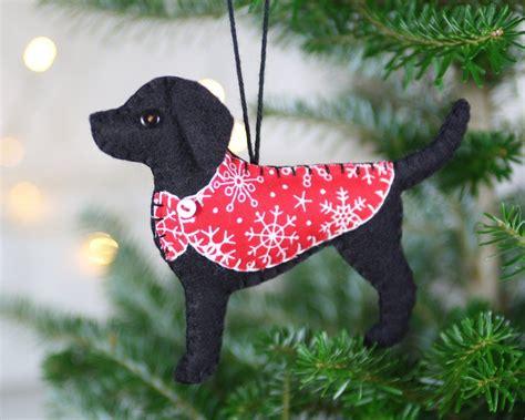 annapolis maryland black dog christmas ornament labrador ornament black labrador felt ornament black labrador labradors and