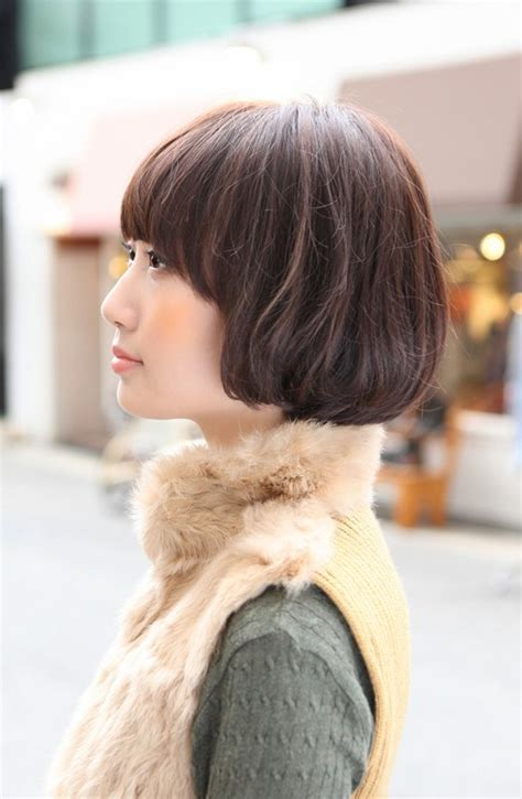 bob haircuts side view side view of cute asian bob hairstyle hairstyles weekly