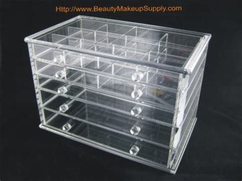 7 Drawer Acrylic Makeup Organizer by Clear Acrylic 7 Drawer Counter Top Cosmetic Organizer