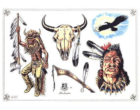 native american indian tattoos designs american tattoos