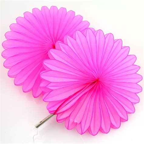 Paper Decoration by 5 Pink Tissue Paper Fan Decorations Pipii
