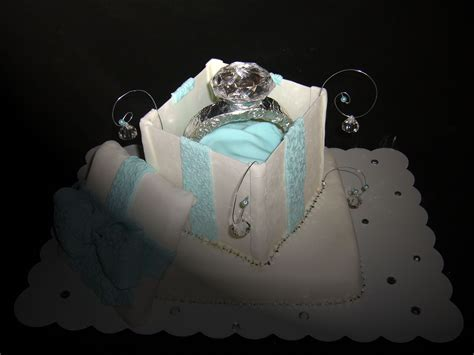engagement ring cake cakecentral